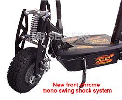 Front mono shock