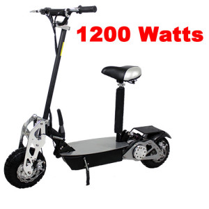 Turbo-Charged 1200 Watt Scooter