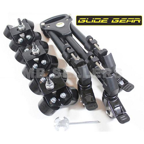 Glide Gear SYL-960 Elite Camera Track Dolly Hybrid With Swivel & Slide Wheels