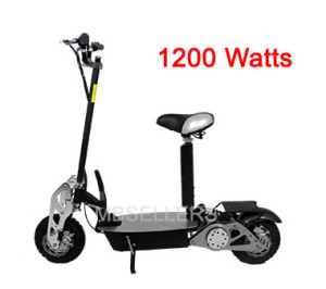 Turbo Charged 1200 Watt Scooter